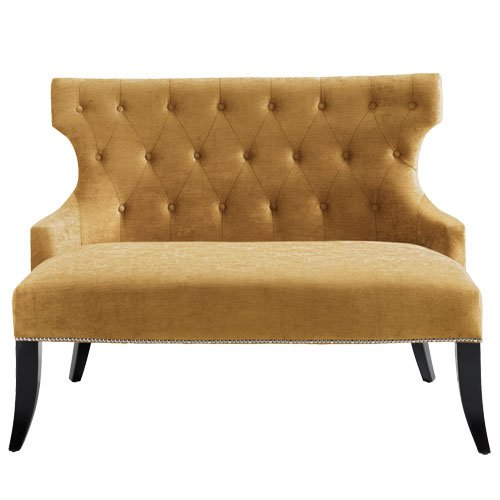 2-Sitzer-Sofa Teatro gold BxTxH=122x73x92 cm 1 St.