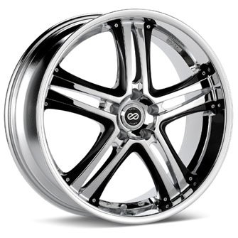 Enkei AKP Chrome (20x8.5 +40 5x110) -- Set of 