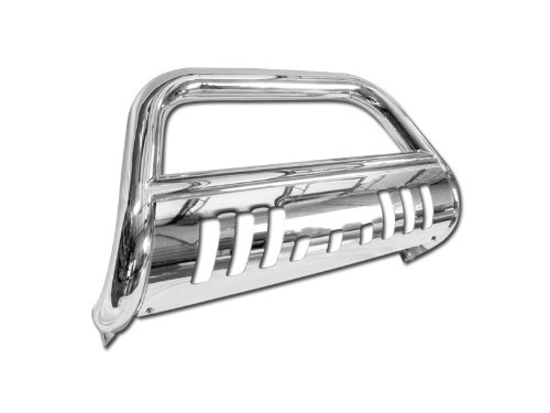 Stainless Chrome BULL BAR brush push bumper grill guard 04+ F150/07+ EXPEDITION (Ford F150 Bull Bar Chrome compare prices)
