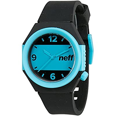 Neff Stripe Men's Stylish Watch - Black/Blue / One Size Fits All