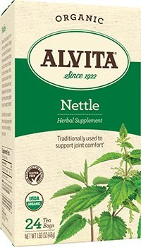 Tea, 95 Percent organic, Herbal, Nettle Leaf, 24 bag ( Multi-Pack)
