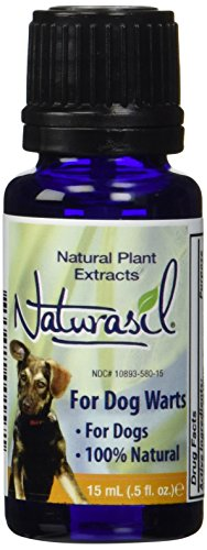 Naturasil: Dog Warts Treatment | Natural Dog Wart Remover for All Dogs, 15 ml