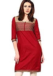 Swagg India for women's cotton Long Kurta