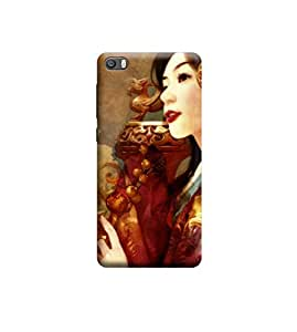 EPICCASE Premium Printed Back Case Cover With Full protection For Xiaomi Mi 5 (Designer Case)