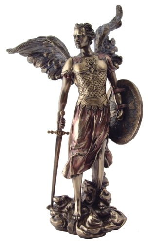 archangel st michael statue archangel of protection and