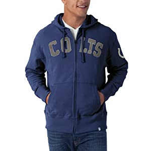 NFL Indianapolis Colts Mens Striker Full Zip Jacket by