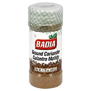 Badia Coriander Ground, 1.75-Ounce (Pack of 12)