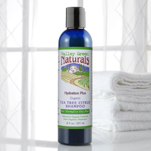Shampoo Tea Tree Citrus Valley Green Naturals 8 Oz Liquid