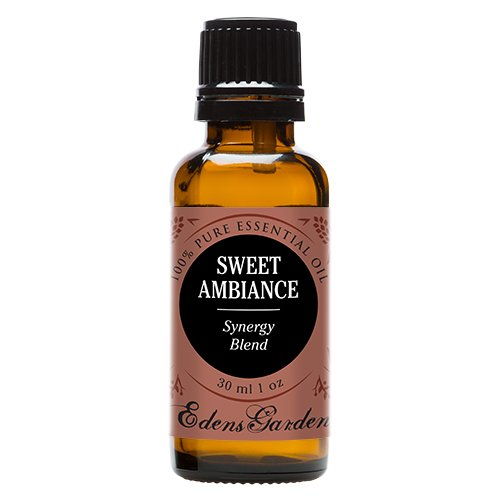Sweet Ambiance Synergy Blend Essential Oil by Edens Garden (Lemon, Lime, Orange, Peru Balsam and Ylang Ylang)- 30 ml