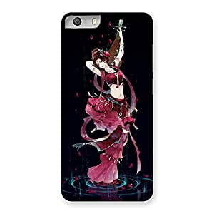 Enticing Princess Pose Back Case Cover for Micromax Canvas Knight 2