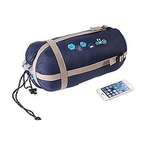 Ohuhu® 0 Degré Sac de Couchage/Sleeping Bag avec Un Sac de Transport pour Voyage / Randonnée / Trekking / Camping
