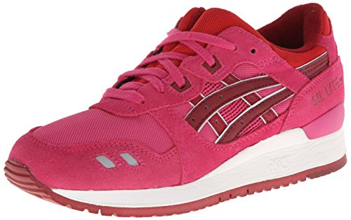 ASICS Women's Gel Lyte III Fashion Sneaker,Magenta/Burgundy,10.5 M US