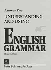 GRAMMAR UNDERSTANDING USING AND ENGLISH