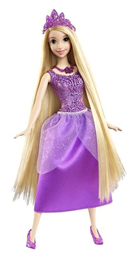 Disney Princess Sparkle Rapunzel Doll - 1