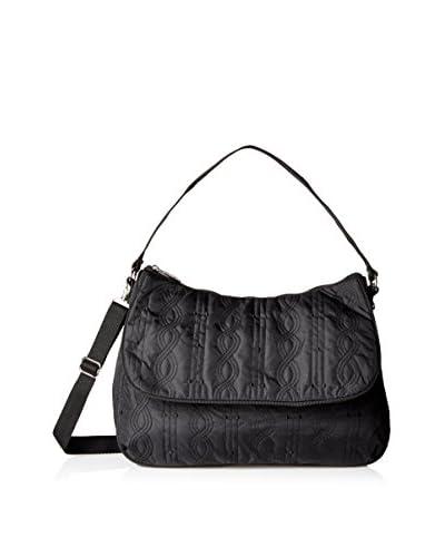 LeSportsac Women's Camille Shoulder Bag, Black Entwine