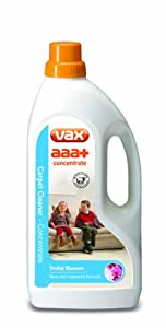 Vax aaa+ Concentrate Carpet Cleaning Solution 1.5 Litre