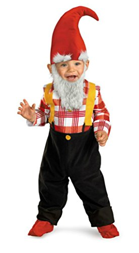 Boys Garden Gnome Toddler Kids Child Fancy Dress Party Halloween Costume