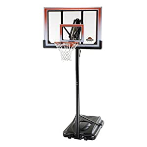 Lifetime 71566 XL Height Adjustable Portable Basketball System, 50 Inch Shatterproof Backboard