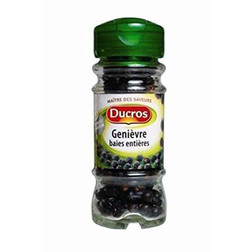 Ducros - genièvre baies flacon verre - 28g