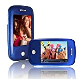 Ematic EM608VIDMB 3-Inch Touch Screen 8 GB MP3 Video Player With Built-In 5 MP Digital Camera(Metallic Blue)