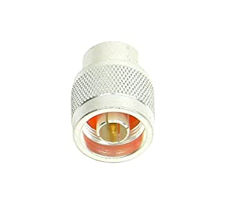 TPI Silver Plated Brass N Type Connector with Teflon Insulation
