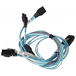 Supermicro CBL-0188L Serial ATA / SAS cable - 4-Lane - 7 pin Serial ATA - 36 pin 4i Mini MultiLane - 2 ft - for A+ Server AS1011, Server AS1021, Server AS2021, SuperServer 5015, 5025, 6015, 6025, 8025