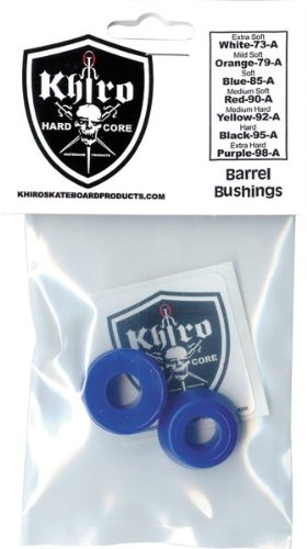 Khiro Barrel Bushing Set 85a Soft Blue (Soft Barrel Bushings compare prices)