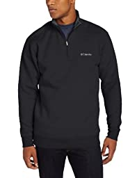 Columbia Men\'s Hart II 1/2 Zip Jacket, Black, Medium