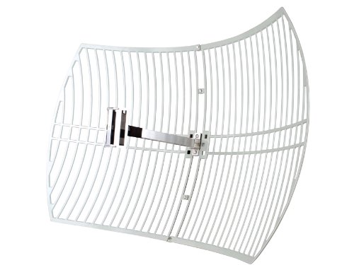 Amazon.com : TP-LINK TL-ANT2424B 2.4GHz 24dBi Directional Grid Parabolic Antenna, N Female connector, weather resistant : Network Access Points