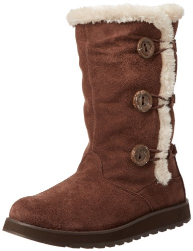 Skechers Womens Keepsakes Canoodle Chocolate Slouch Boots 48022 7 UK, 40 EU