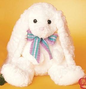 Plush White Mama Bunny Stuffed Animal