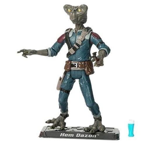 Star Wars - The Saga Collection - Basic Figure - Hem Dazon by Hasbro TOY (English Manual)