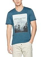 Tom Tailor Camiseta Manga Corta (Azul)