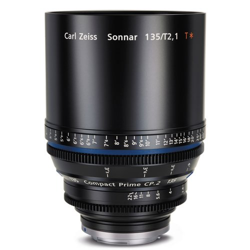 Zeiss Compact Prime Cp.2 135Mm F/2.1 T* (Feet) Pl Bayonet Mount Lens