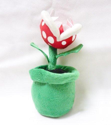 Mario Bro: Piranha Plant Green Pipe 8-inch Plush by Nintendo