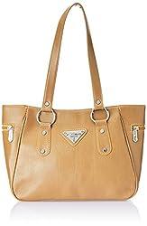 Fostelo Women's Handbag Beige (FSB-338)