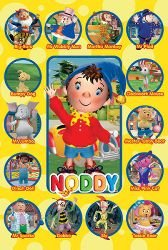 Noddy - Characters Poster - 91x61cm""