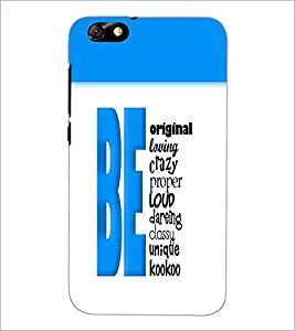 HUAWEI HONOR 4X BE ORIGINAL Designer Back Cover Case By PRINTSWAG