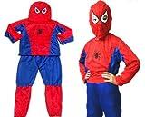 スパイダーマン チャイルドコスチューム  幼児・子供用 コスプレ衣装 Mサイズ Spider-Man gc002