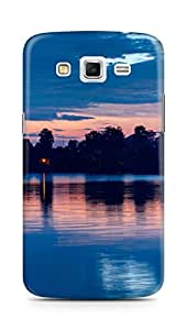 Amez designer printed 3d premium high quality back case cover for Samsung Galaxy Grand 2 G7102 (Night Sky Lake)