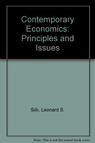 Contemporary Economics: Principles and Issues PDF