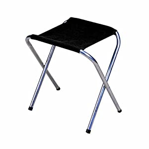 Stansport Folding Camp Stool (Black, 16 x 14-Inch): Amazon ...