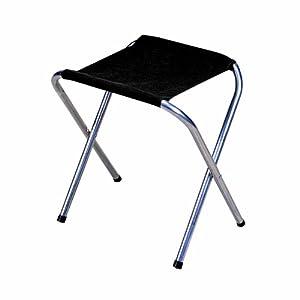 Stansport Folding Camp Stool Black 16 X 14 Inch Amazon