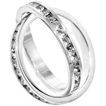 Two to Tango Channel Set Ring