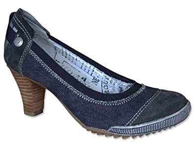 s oliver pumps in denim pumps blau schuhgr e 39. Black Bedroom Furniture Sets. Home Design Ideas