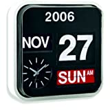 Large Number Wall Hanging Flip Clock / Calendar