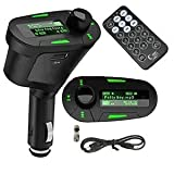 Aeoss ® Car Digital MP3 Player FM Transmitter Modulator LCD USB SD MMC with Remote - Best Reviews Guide