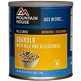 Mountain House, Granola with Milk & Blueberries