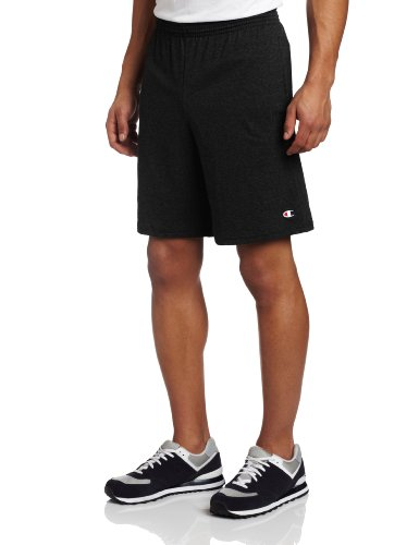Champion Men's Jersey Short With Pockets, Black, Large (The Champion compare prices)
