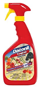 Gardentech 2112 Daconil Fungicide Ready to Use with Trigger Sprayer, 32-Ounce